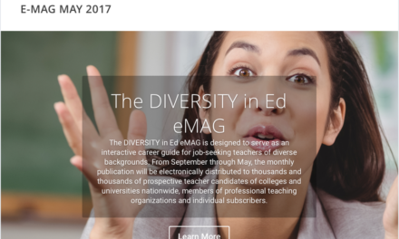 DIVERSITY in Ed – MAY 2017 E-MAG